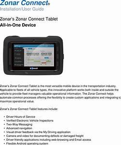 Zonar Systems Connect Zonar Connect    Zonar Connect Dock