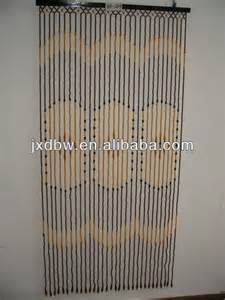 wholesale 90x180cm 31strings bamboo and wood beaded door