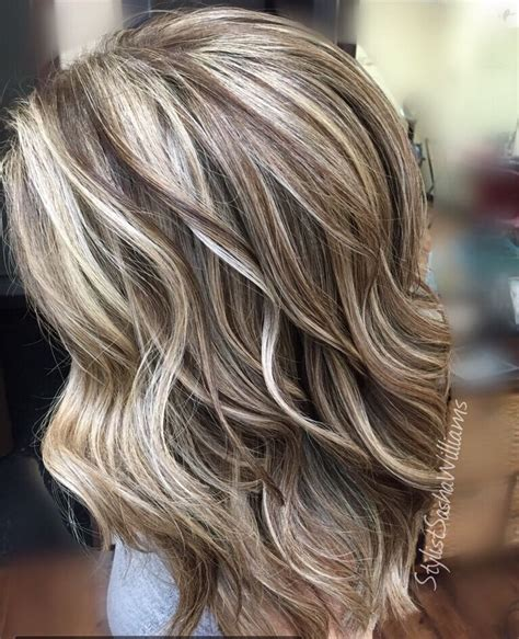 Highlight Hairstyles by Highlights Lowlights Hair Hair By In 2019