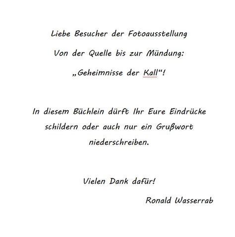 gaestebuch vorwort