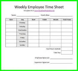 printable bi weekly time sheets supplyletter