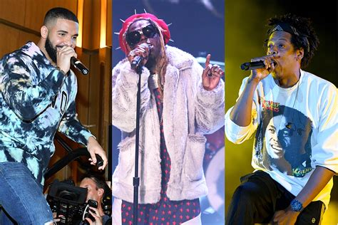 rappers 2000 verse runs guest since every year wayne lil xxl drake jay