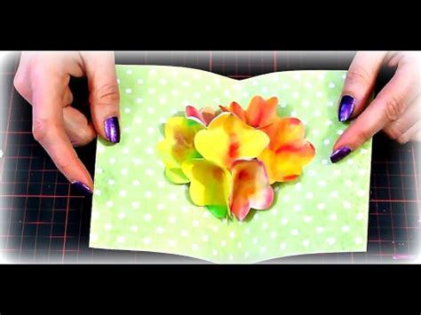 basteln 3d basteln mit papier diy muttertagskarte 3d pop up blumenstrau 223 f 252 r den muttertag diy