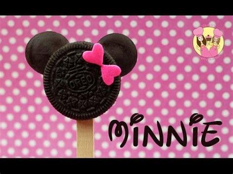 minnie mouse oreo pops cute disney mickey  minnie