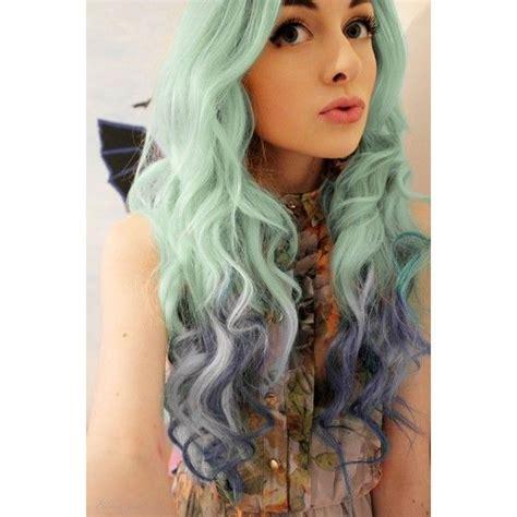 Best Green Blue Ombre Hair Dye Seafoam Mermaid Ombre