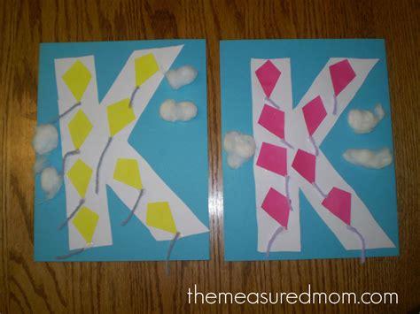 crafts for letter k the measured 339 | Letter K crafts the measured mom