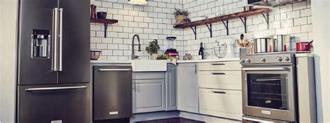 bold  black stainless steel appliances kitchenaid kitchenaid