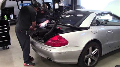 how to fix cars 2003 mercedes benz c class electronic throttle control how to fix convertible top on mercedes benz sl youtube