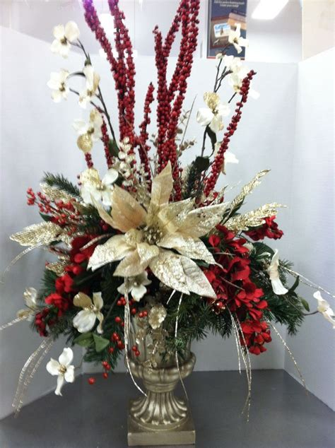 image result  floral christmas sprays  table