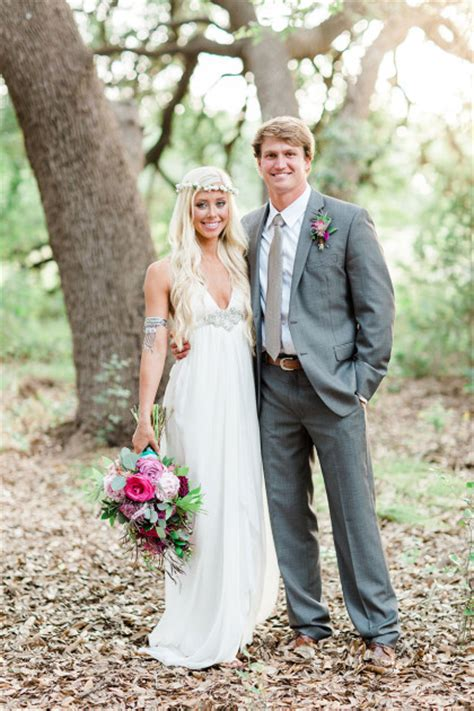 Boho Chic Austin Wedding Featuring Davy Gray   Blaze + Jaxon