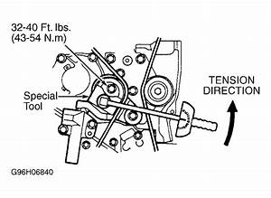 2004 Chrysler Sebring Serpentine Belt Routing And Timing
