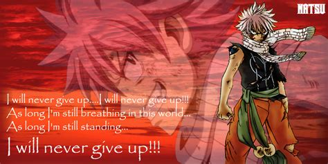 natsus quotefairy tail  evitacarla  deviantart