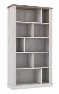 Etagere De Bureau : etagere duro meuble de bureau pin blanc chene antique ~ Teatrodelosmanantiales.com Idées de Décoration