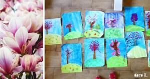 Malen Mit Kindern : malen mit kindern ein bl hender fr hlingsbaum doro kaiser grafik illustration ~ Orissabook.com Haus und Dekorationen