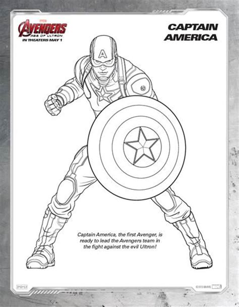 marvel s avengers age of ultron coloring sheets now