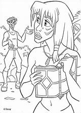 Coloring Atlantis Pages Disney Kida Milo Thatch Lost Fun Hellokids Colouring Empire Swim Sheets Princess Sunken Print Books Coloriage Atlantide sketch template