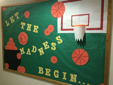 March Madness Bulletin Board! #marchmadness #ralife