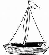 Boat Pages Sailing Coloring Fishing Play sketch template