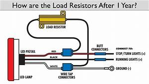 Led Resistor Wiring Diagram