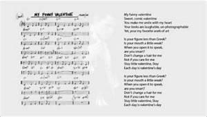My Funny Valentine Chords  U0026 Lyrics