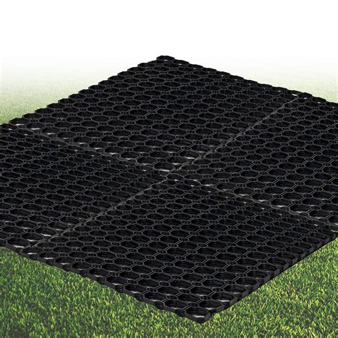 keep dirt out floor mats 4 black heavy duty rubber hollow floor mat grip studs home office dirt non slip ebay