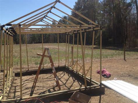 building   greenhouse   ez frames kit part  youtube