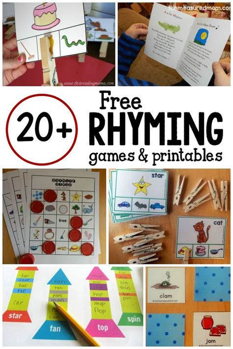 best 25 rhyming activities ideas on rhyming 389 | 660f379cfabd030f3c19f60c2632d4c8 rhyming kindergarten kindergarten reading