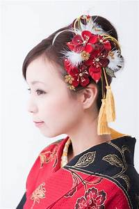 Kanzashi, japanese traditional hair ornament | Japnese and ...