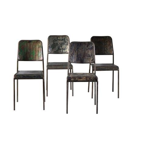 chaise en fer industriel chaise en fer industriel chaise design fil de fer et pieds en bois chaise style industriel