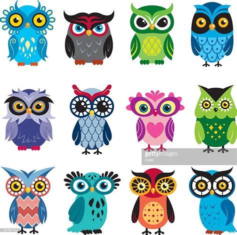 Owls Illustrationer - Getty Images