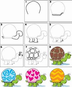 How To Draw a Turtle | How to Draw | Pinterest | Turtles