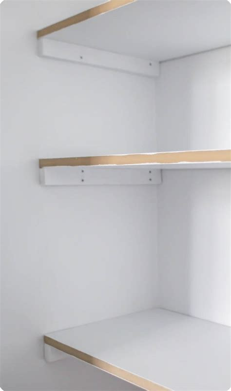 Shelves In A Closet by How To Build Cheap And Easy Diy Closet Shelves Lovely Etc