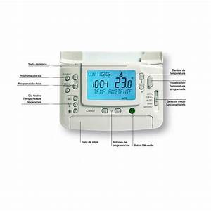 Termostato Honeywell Cm907 Digital Programable