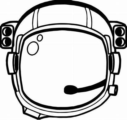 Astronaut Helmet Space Craft Coloring Preschool Printable