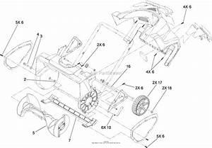 Toro 38302  1800 Power Curve Snowthrower  2016  Sn