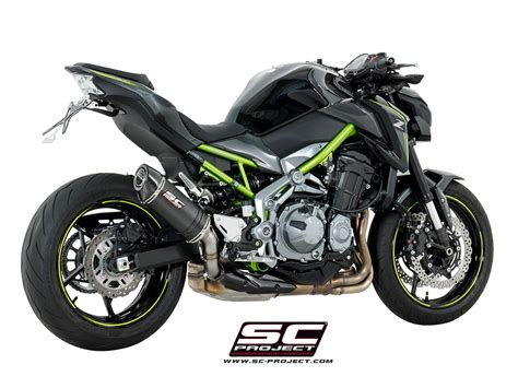 Kawasaki Z900 Image by Sc Project Exhaust Kawasaki Z900 Oval Silencer 2017