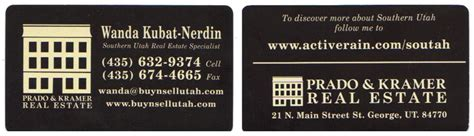 how to back up my business card your opinion