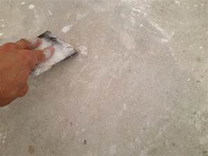 realiser un ragreage lisse en neuf ou renovez un sol With peinture sol sur ragreage