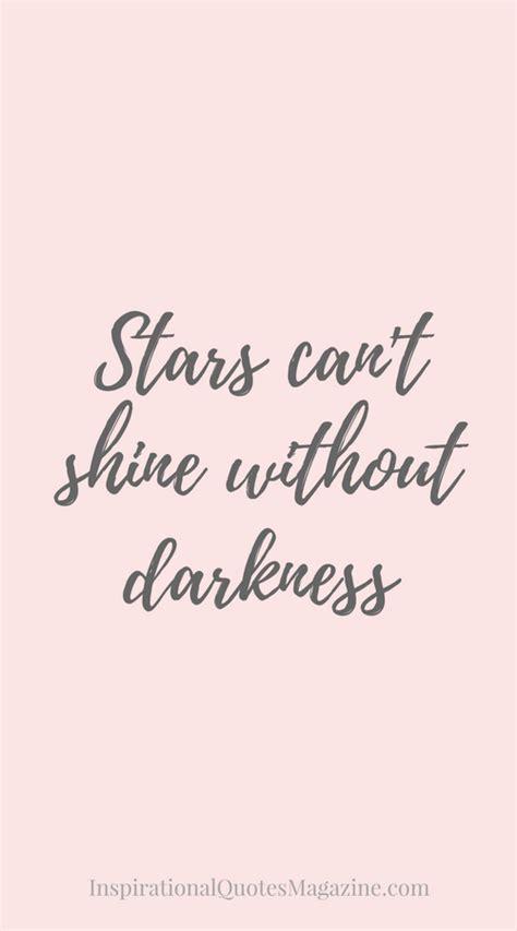 stars  shine  darkness quotes  post