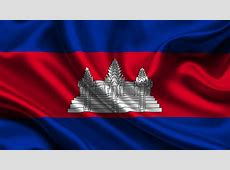 Wallpaper Cambodia Flag Stripes