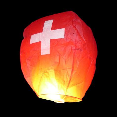 Himmelskerze 1. August Schweizerkreuz Skylantern