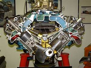 Cutaway Hemi V8 Engine By Jetster1 Deviantart Com On