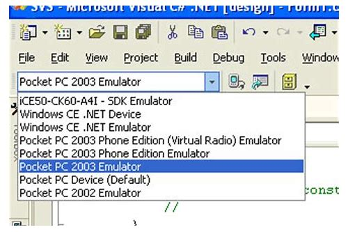 pocket pc 2003 se emulator de baixar
