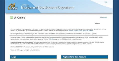Unemployment insurance under california law specifically provides partial wage replacement benefit payments to workers who have their hours reduced through no fault of their own. California Unemployment Login - EDD.CA.gov - Benefits