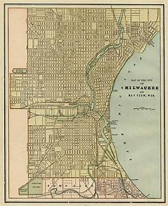 Map of the City of Milwaukee And Bay View, Wis. - Barry ...