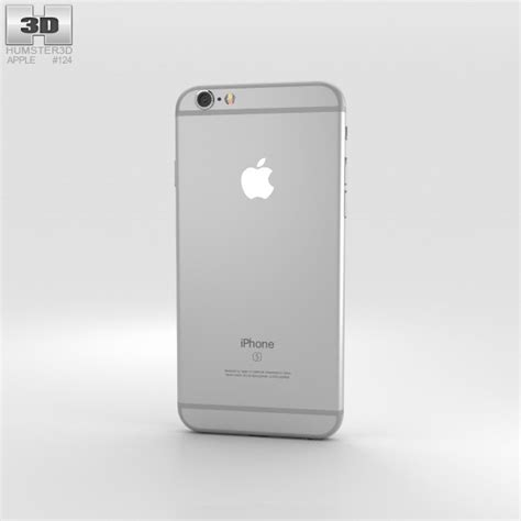 iphone 6s models apple iphone 6s silver 3d model humster3d