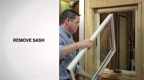 replacing  glazing bead   series casement windows andersen windows youtube