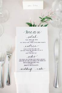 wedding menus best 25 wedding dinner menu ideas on diy menu cards for weddings napkins for