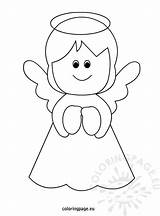 Christmas Angel Coloring Pages Printable Templates Tree Angels Template Crafts Colouring Coloringpage Eu Yahoo Sheet Results Drawing Crayon Colors Related sketch template