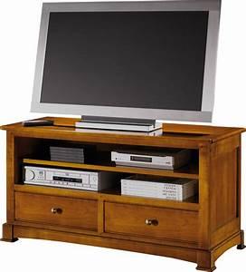 Meuble Tv Petit : meuble tv hifi bois maison et mobilier d 39 int rieur ~ Teatrodelosmanantiales.com Idées de Décoration